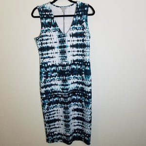 Belle + Sky Midi Scuba Dress Size M